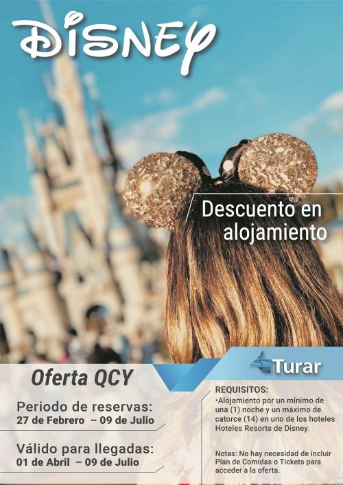 Disney - Descuento en Alojamiento