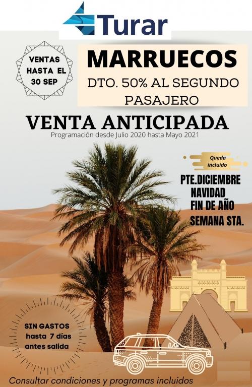Venta Anticipada Marruecos