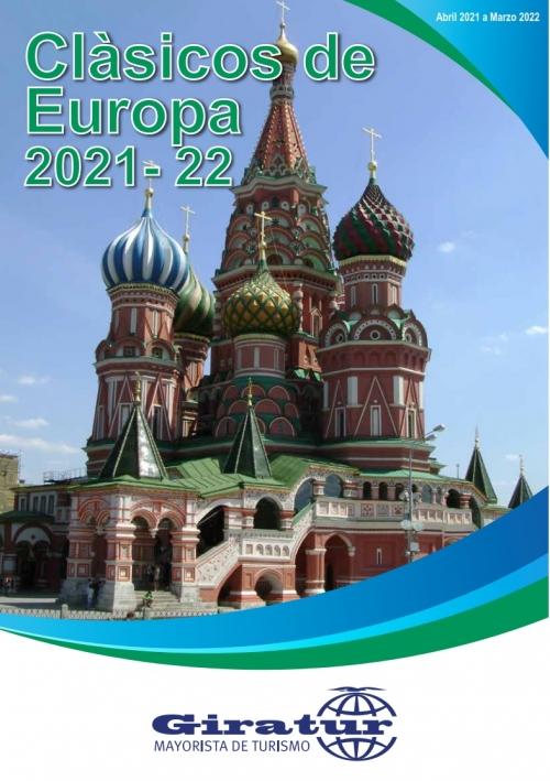 Giratur - Clasicos de Europa 2021-2022
