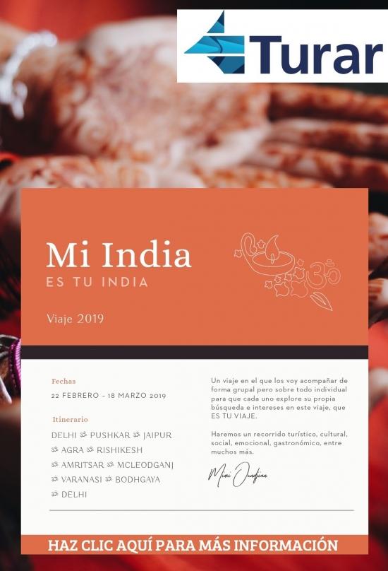 Mi India es tu India - Viaje 2019
