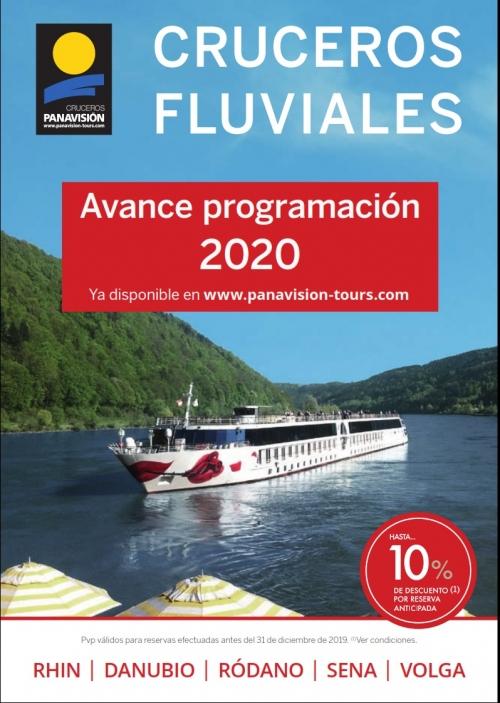 PANAVISION - CRUCEROS FLUVIALES- AVANCE 2020